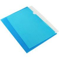 Q-Connect Cut Flush Folder A4 (Pk 100) Blue