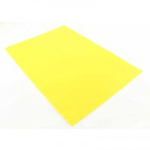 Q-Connect Cut Flush Folder A4 (Pk 100) Yellow KF01487