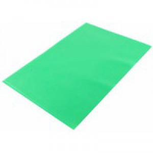 Q-Connect Cut Flush Folder A4 Pack of 100 Green