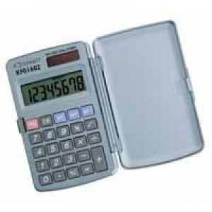 Q-Connect Pocket Calculator 8-digit KF01602