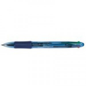 Q-Connect 4 Colour Ball Point Pen KF01938