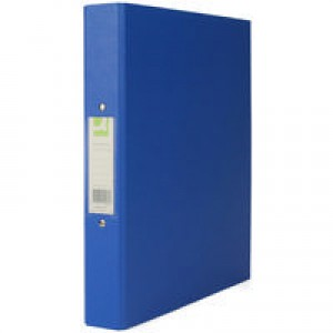 Q-Connect 2-Ring Binder A4 25mm Polypropylene Blue