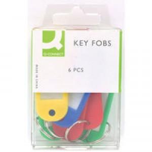 Q-Connect Key Fob Pack of 6 KF02036Q