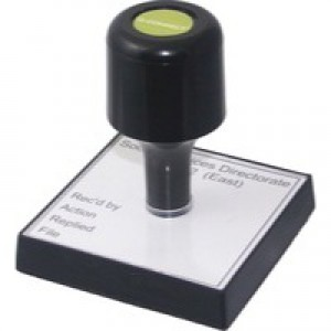 Q-Connect Voucher for Rubber Stamp 52x20mm
