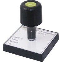Q-Connect Voucher For Rubber Stamp 75x35mm