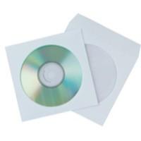 Q-Connect CD Envelope Paper Pk 50