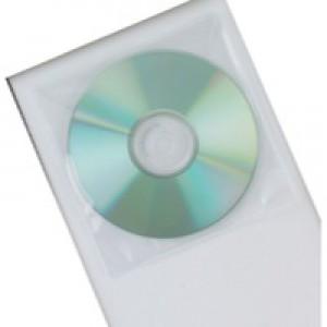 Q-Connect CD Envelope Polypropylene Pack of 50 KF02207