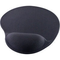 Q-Connect Gel Mouse Mat Black