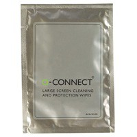 Q-Connect Large Screen/Protection Wipes Pack of 10 A
