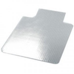 Q-Connect Chairmat PVC 1143x1346mm Clear
