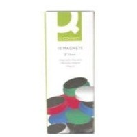 Q-Connect Magnet 25mm Assorted Pk 10