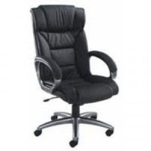Arista Executive Leather Chair Black KF03437