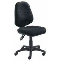Arista Concept High Back Permanent Contact Operator Chair Charcoal