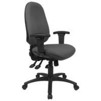 Cappela Rise High Back Posture Chair Black