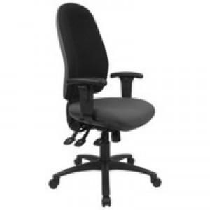 Cappela Radial High Back Posture Chair Black KF03499