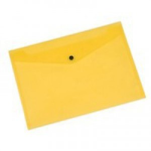 Q-Connect Document Folder Polypropylene A4 Yellow KF03595