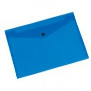 Q-Connect Document Folder Polypropylene A4 Blue KF03596