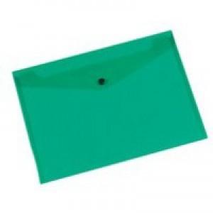 Q-Connect Document Folder Polypropylene A4 Green KF03597