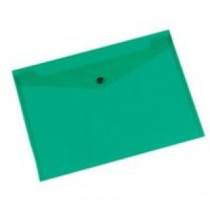 Q-Connect Document Folder Polypropylene A4 Green KF03597