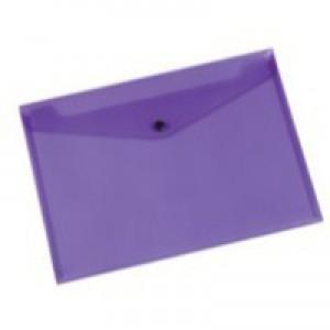 Q-Connect Document Folder Polypropylene A4 Purple KF03598