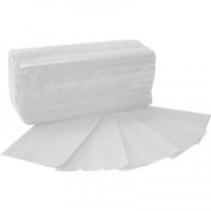 2Work Hand Towel 1-Ply White Pk 2955 HT8325