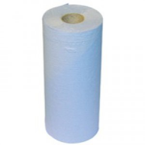 2work Hygiene Roll Blue 10 inch Pack of 24 HR2240