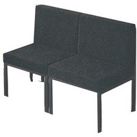 Jemini Reception Chair Charcoal