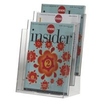Q-Connect A4 Literature Holder 3 Pockets (Pack of 1)