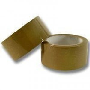 Q-Connect Low-Noise Packaging Tape Brown