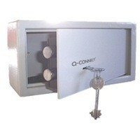 Q-Connect Key-Operated Safe 6L H150Xw200Xd200mm