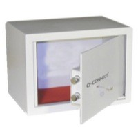 Q-Connect Key-Operated Safe 10 Litre H200xW310xD200mm
