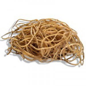 Q-Connect Rubber Bands 500gm Number 63