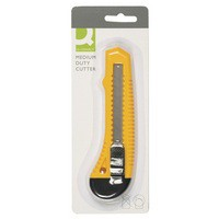 Q-Connect Cutter Medium Duty 18mm