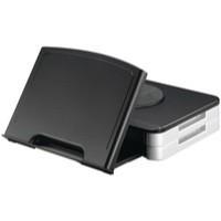 Q-Connect Monitor Stand/Copyholder Black
