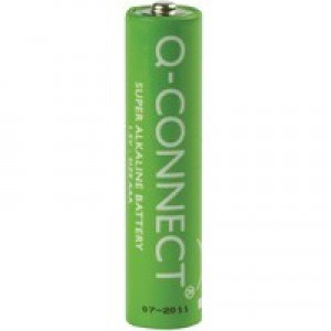 Q-Connect Battery AAA Economy Pk 20