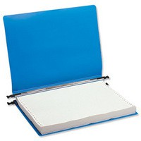Q-Connect Print-Out Binder 260x305mm Blue Pack of 6
