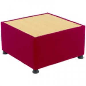 Arista Modular Reception Coffee Table Claret KF14457