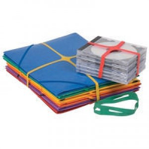 Q-Connect X-Band 100gm 100x11mm Assorted Colours