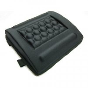 Q-Connect Memory Foam Back Cushion Black KF15412