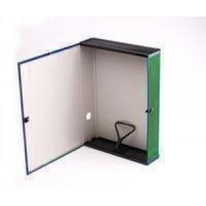 Q-Connect Box File Foolscap Green
