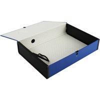 Q-Connect Box File Foolscap Blue