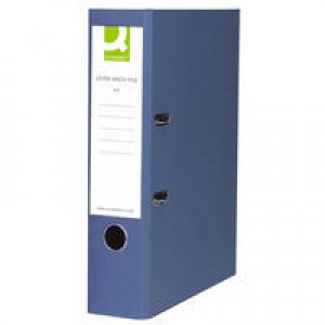 Q-Connect Lever Arch File A4 Polypropylene Blue