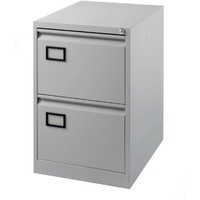 Image for Jemini 2-Drawer Filing Cabinet Pearl Grey
