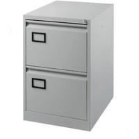 Jemini 2-Drawer Filing Cabinet Pearl Grey