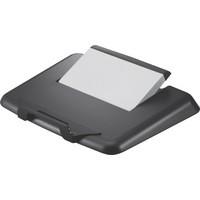 Q-Connect Plastic Laptop Stand Black