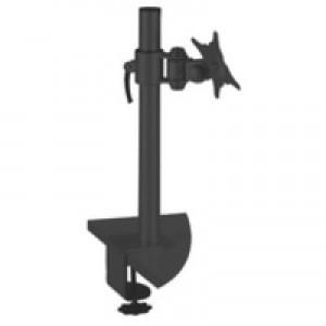 Q-Connect Flat Screen Pivot Monitor Arm Black KF20083
