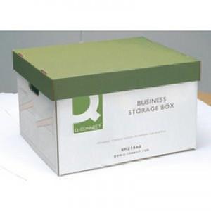 Q-Connect Business Storage Box 335x400x250mm (Pk 10) KF21660