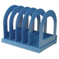 Q-Connect Book Rack Blue