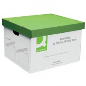 Q-Connect Business EL MegaStore Box 383x430x295mm (Pk 10) KF21738