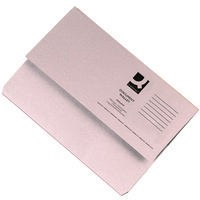 Q-Connect Document Wallet 285gsm Foolscap Buff